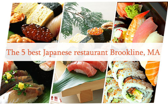The 5 best Japanese restaurant Brookline, MA