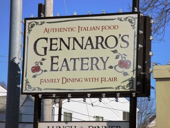 New Restaurants Quincy MA 2017 - Gennaro's Eatery